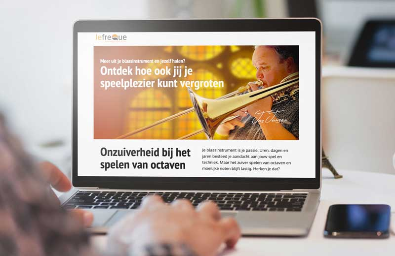 landingspagina's als marketingtool