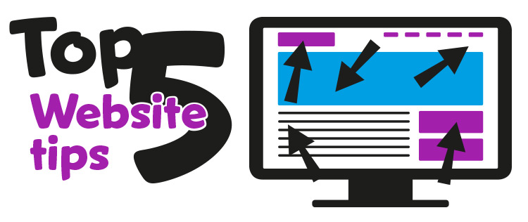 top 5 website tips van jsp reclame kesteren